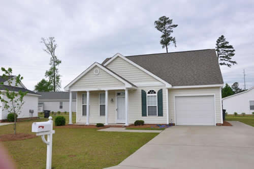 The Village at Hunter's Park Three Bedroom House with Garage